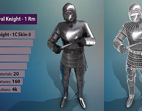 3D asset TAB Medieval Knight - 1Rm C - Skin3