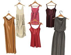 3D model Dress on Hanger 3