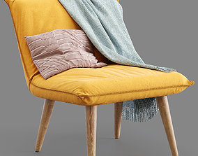 3D House by John Lewis Tuck Accent Armchair