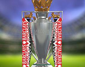 Premier League Trophy 3D