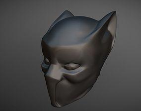Mask Black Panther 3D model