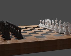 Chessboard 3D asset