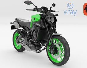 Yamaha MT-09 3D