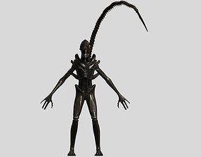 Xenomorph Alien Warrior 3D