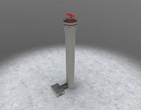 EDDH Radar Tower 2 3D asset