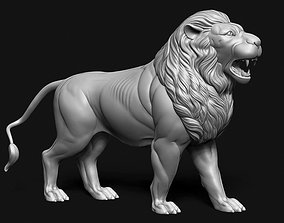 Lion Idol 3D print model
