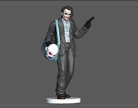 JOKER BANK ROBBER BATMAN DARK NIGHT DC STATUE MODEL