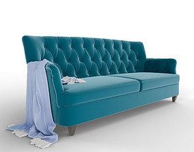 3D model Classical Sofa seating