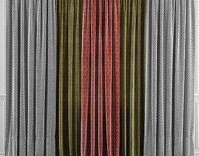 Curtain Set 33 3D model