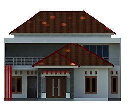 3D model house SIMPLE HOUSE