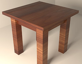 End Table 3D model low-poly