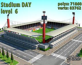 Stadium Level 6 Day 3D asset