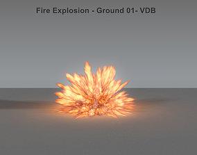 Fire Explosion 01 - VDB 3D