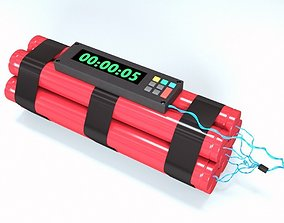 3D Bomb with Timer