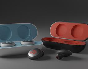 Wireless Earbuds 3D model