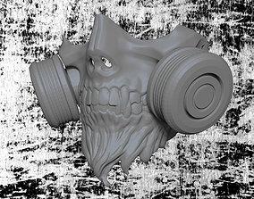 3D print model Skull Gas Mask
