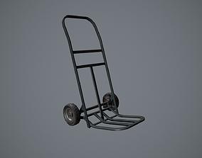 Hand Truck - Trolley Prop 3D asset