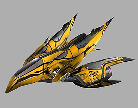 3D model Stinger Aircraft