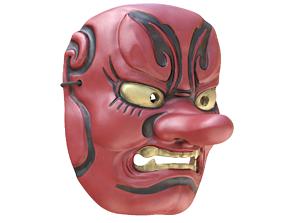 3D model Japanese Mask Tengu Gigaku