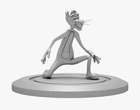 PINK PANTHER 3D PRINT