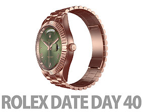 3D Rolex DAY-DATE 40 Watch