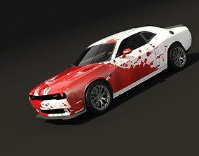 3D Dodge challenger srthellcat 2015