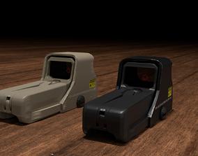 Holographic Sight 3D asset