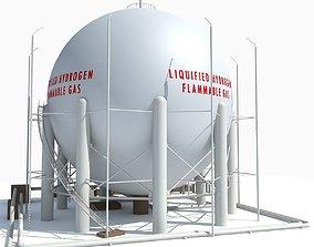 Hydrogen Storage 3D model