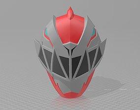 Kishiryu Sentai Ryusoulger Red Helmet 3D print model
