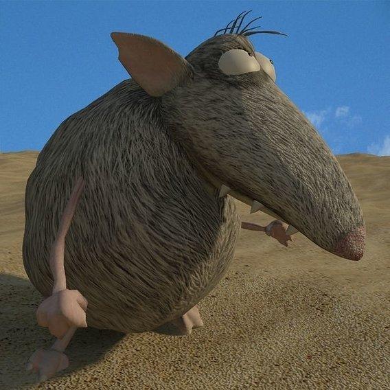 rat animation