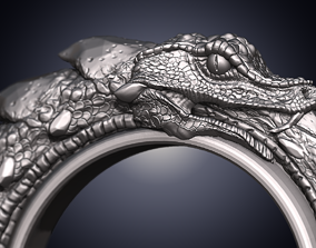 Snakering Oroboro 3D print model printable