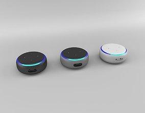 3D model Amazon Echo Dot 3rd Generation 2018 - All Colors