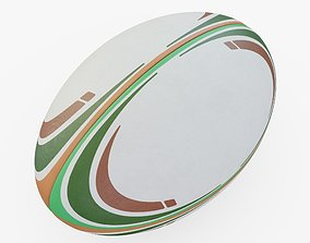 3D model Rugby Ball Generic
