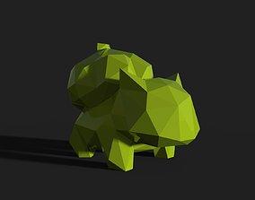 3D print model Bulbasaur Low Poly