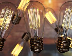 Light bulb vintage 1 3D model