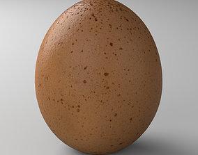 3D asset Egg 01