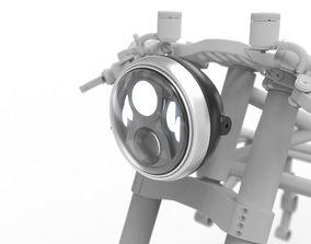 3D model Motodemic Evo 2 Headlight