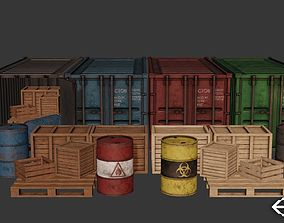Industrial Cargo Pack 3D model