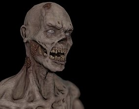 3D model Game-ready Zombie Character