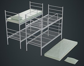 Bunk Bed 1A 3D asset