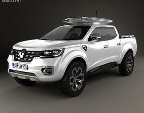 3D model Renault Alaskan Concept 2015