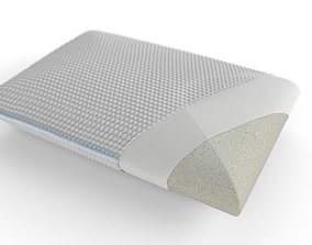 Pillow with inside layers 3D