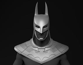 Batman Anime Cowl and Helmet Wearable 3D Printable