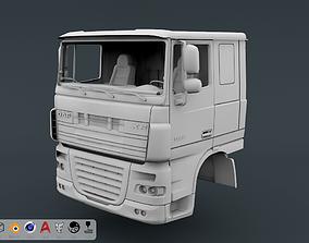 3D printable model DAF XF 105 Cabin