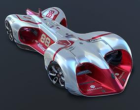 3D Roborace Formula E car