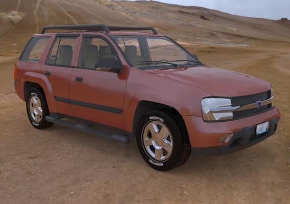 Trailfinder in the Desert