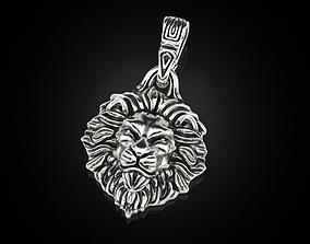 Lion Pendant 3 3D print model