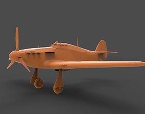 Hawker Hurricane 3D print model