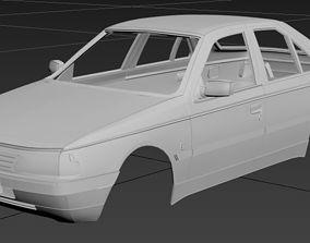 Peugeot 405 Printable Body Car