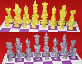 3D printable model CHESS Board AVENGERS VS JUSTICE